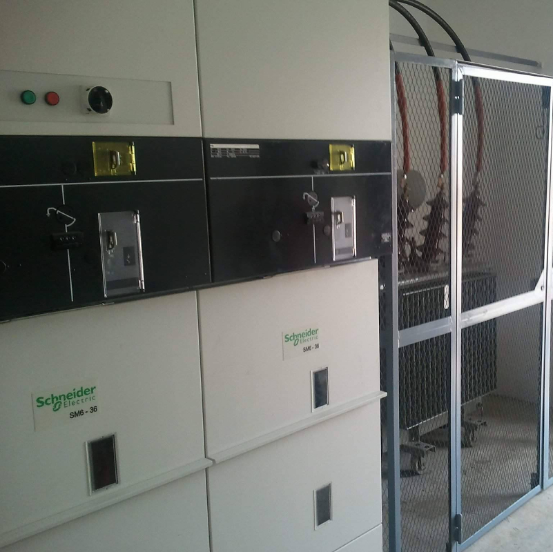 Construction et instalation Poste Transformateur